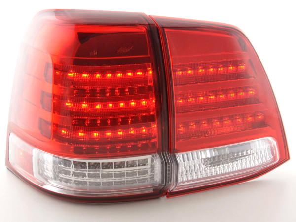 Led Taillights Toyota Land Cruiser type FJ200 Yr. 07-08 chrome