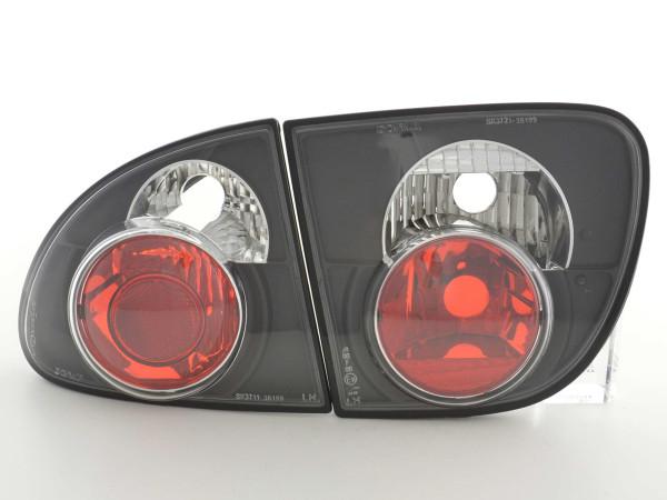 Taillights Seat Leon type 1M Yr. 99-05 black