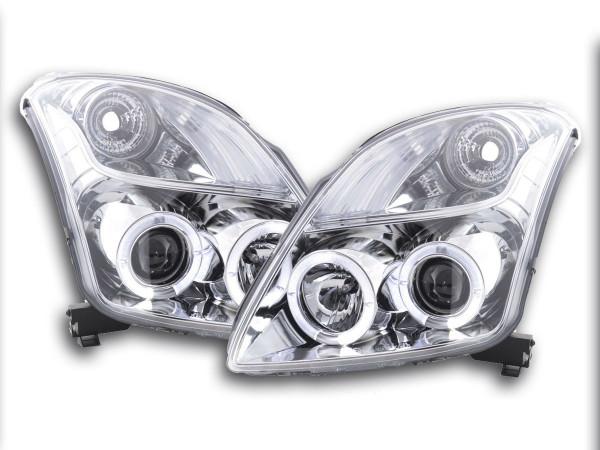 headlight Suzuki Swift type MZ Yr. 05- chrome