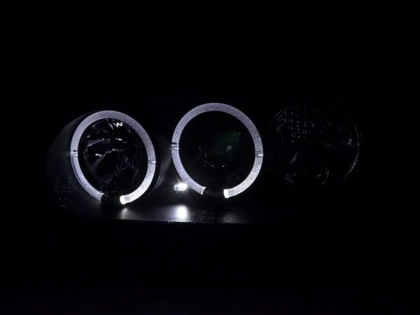 Angel Eyes headlights VW Golf 4 type 1J Yr. 98-03 black
