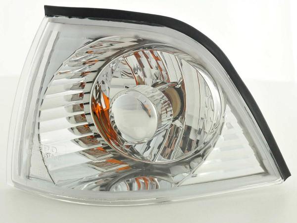 Front indicator Set BMW 3er Coupe/Cabrio Typ E36 Yr. 91-98 chrome