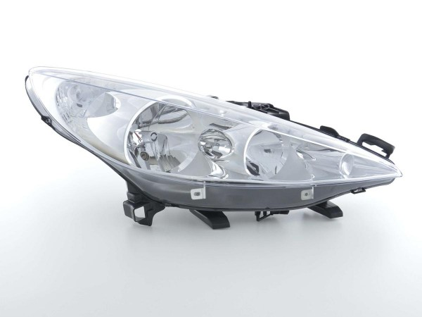 Spare parts headlight right Peugeot 207 (type W) Yr. 06-09