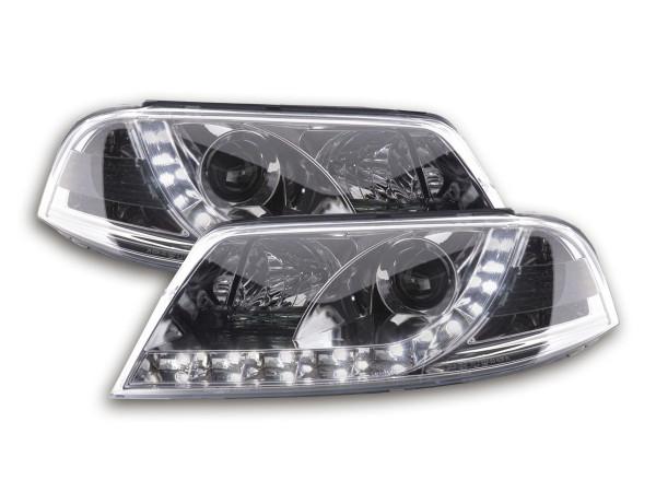 Daylight headlight VW Passat type 3BG Yr. 00-05 chrome