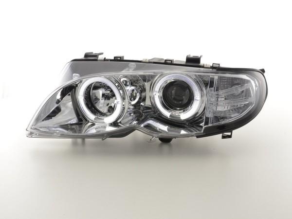 headlight BMW serie 3 E46 saloon/Touring Yr. 02-05 chrome