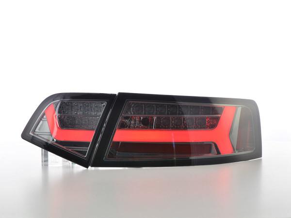 LED rear lights Lightbar Audi A6 4F saloon year 08-11 smoke