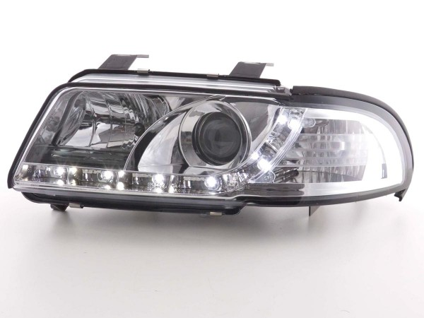 Daylight headlight Audi A4 type B5 Yr. 99-01 chrome