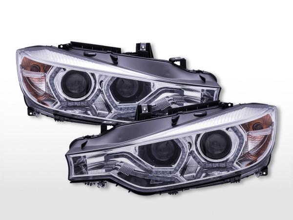 Daylight Scheinwerfer mit LED Tagfahrlicht BMW 3er F30/F31 ab 2012 chrom