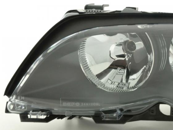 Spare parts headlight left BMW serie 3 saloon/Touring (type E46)