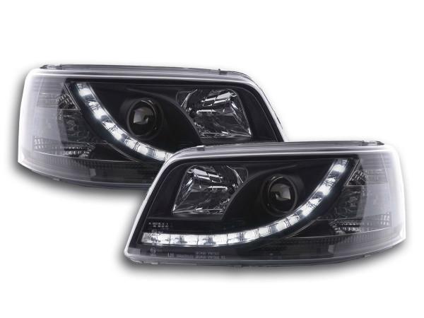Daylight headlight VW Bus type T5 Yr. 03-09 black
