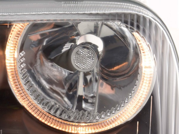 Angel Eye headlight VW Golf 3 type 1HXO, 1 EXO Yr. 91-97 black