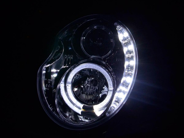 Daylight headlight Mini Cooper type R50 Yr. 01-06 chrome