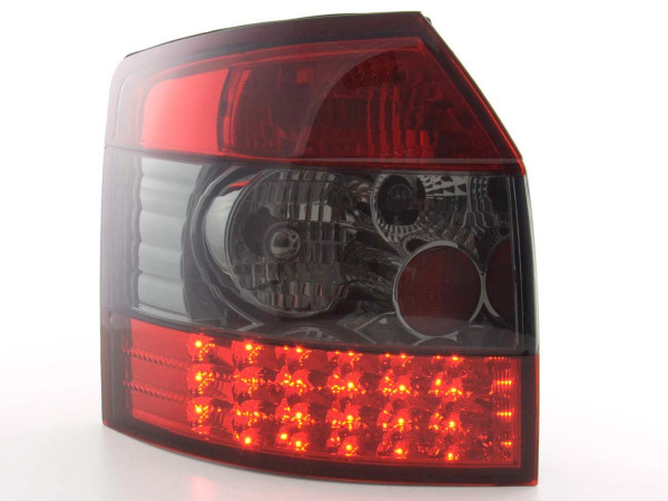 Led Taillights Audi A4 Avant type 8E Yr. 01-04 black/red