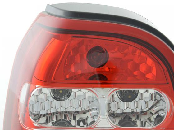 Taillights VW Golf 3 type 1HXO Yr. 92-97 white red
