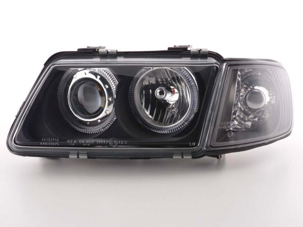 Angel Eye headlight Audi A3 type 8L Yr. 96-00 black