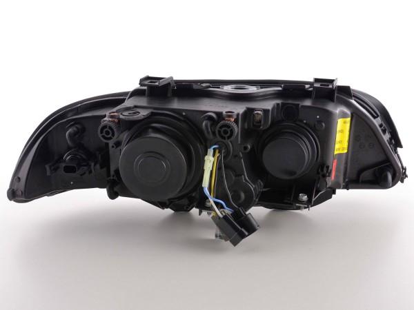 Angel Eye headlight BMW serie 5 type E39 Yr. 95-00 black