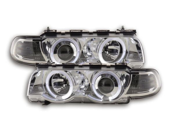 headlight BMW serie 7 type E38 Yr. 99-02 chrome