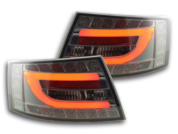 Taillights LED Audi A6 saloon (4F) Yr. 04-08 black