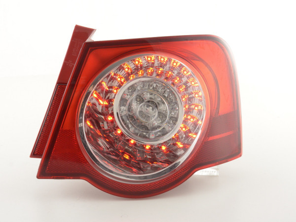 Spare parts Taillights right VW Passat saloon type 3C Yr. 05-10 clear/red