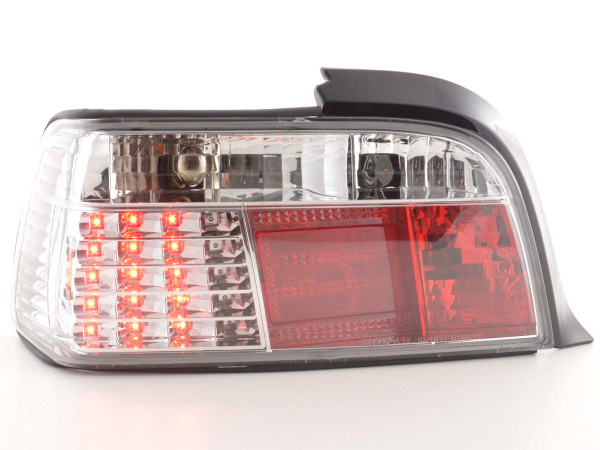 Led Taillights BMW serie 3 Coupe type E36 Yr. 91-98 chrome