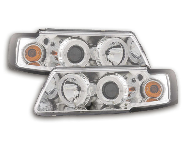 headlight VW Passat type 3B Yr. 97-00 chrome