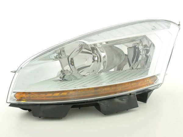 Spare parts headlight left Citroen Picasso Yr. 06-07