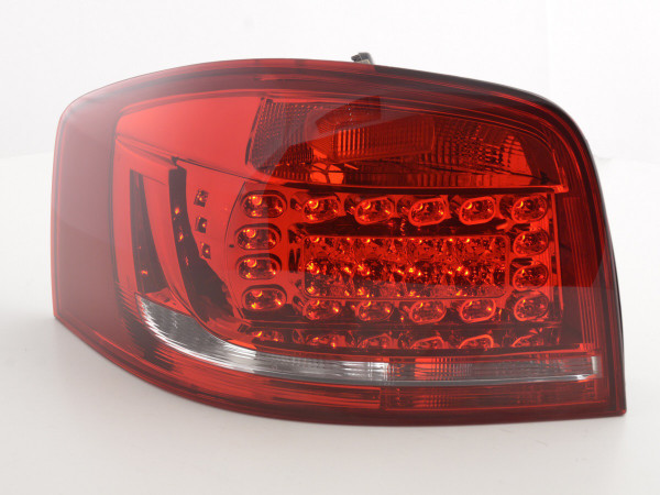 Taillights LED Audi A3 3doors (8P) Yr. 2010-2012 red/clear