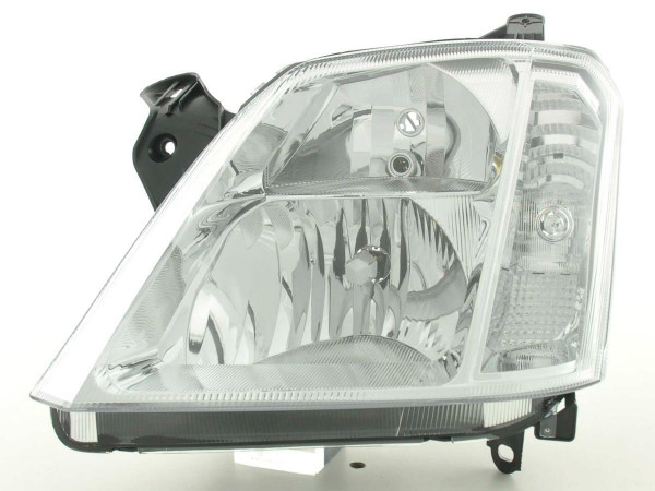 Spare parts headlight left Opel Meriva Yr. 03-