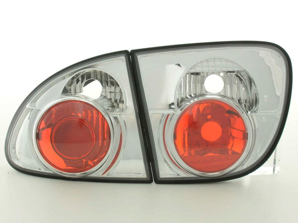 Taillights Seat Leon type 1M Yr. 97-05 chrome