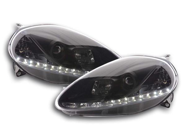 Daylight headlight Fiat Grande Punto type 199 Yr. 08- black
