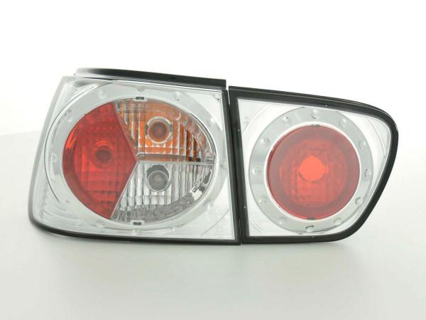 Rear lights Seat Ibiza Typ 6K Yr. 99-02 chrome