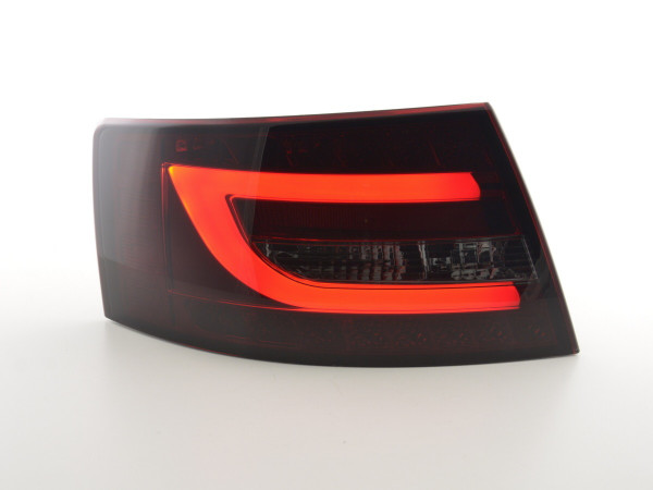 Taillights LED Audi A6 saloon (4F) Yr. 04-08 red/black