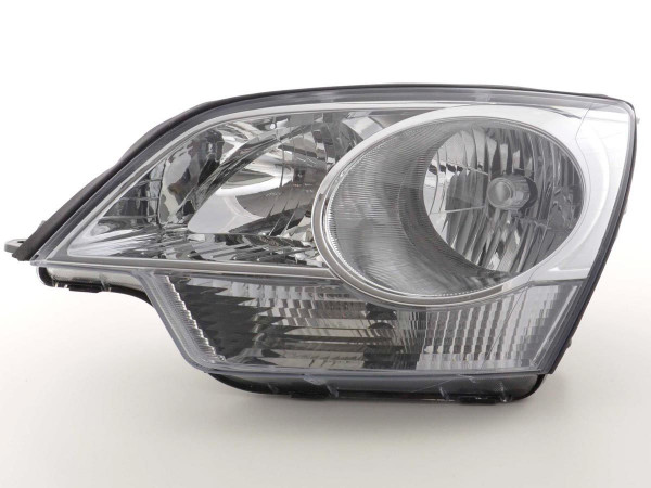 Spare parts headlight left Opel Antara Yr. 06-, chrome