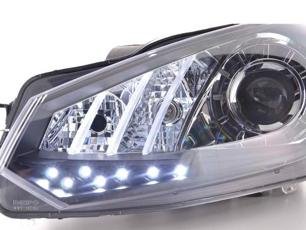 headlight Daylight VW Golf 6 Yr. 08- black