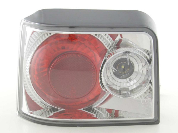 Taillights Peugeot 205 type 20 C D Yr. 90-95 chrome