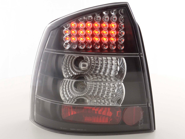 Led Taillights Opel Astra G 3/5-dr Yr. 98-03 black