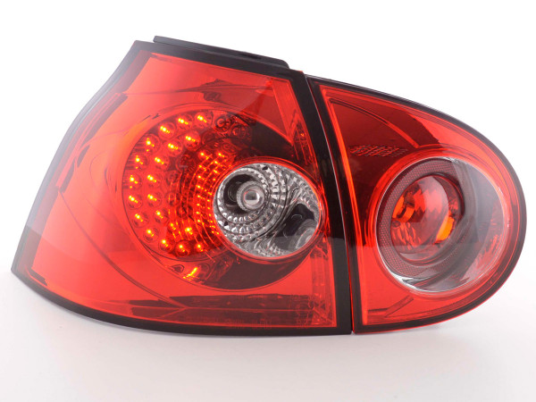 Led Taillights VW Golf 5 type 1K Yr. 2003-2008 red
