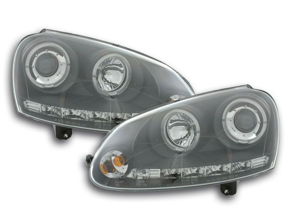 headlight VW Golf 5 type 1K Yr. 03-08 black
