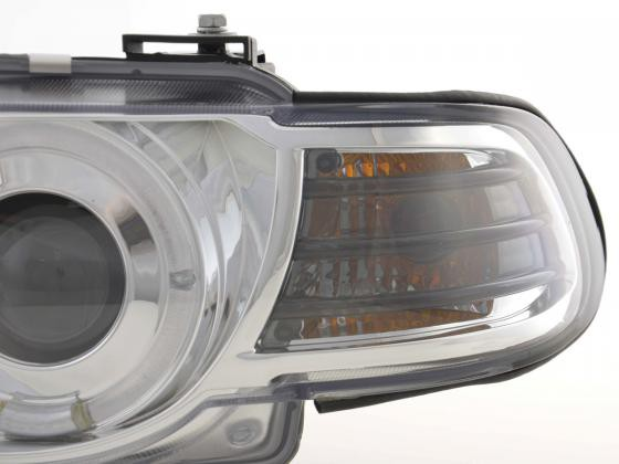 headlight BMW serie 7 type E38 Yr. 99-02 chrome Xenon