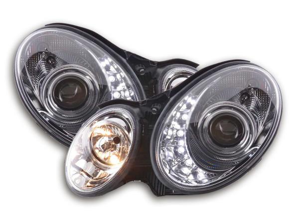 Daylight headlight Mercedes E-Classe type W211 Yr. 02-06 chrome