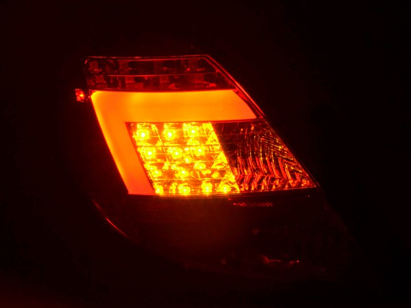 Taillights Set LED Opel Corsa D 5-dr Yr. 06-10 red/clear