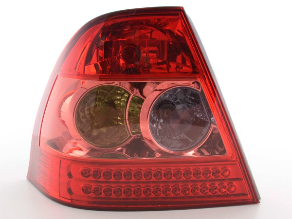 Led Taillights Toyota Corolla Saloon Typ E12 Yr. 02-04 red