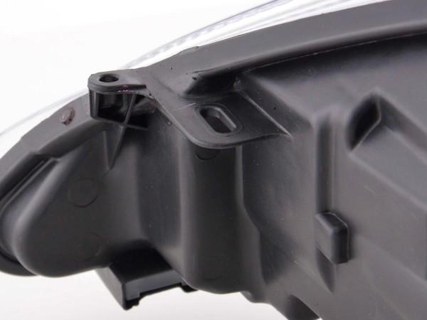 Spare parts headlight right Ford Fiesta 7 (JA8) 3-/5-door., black