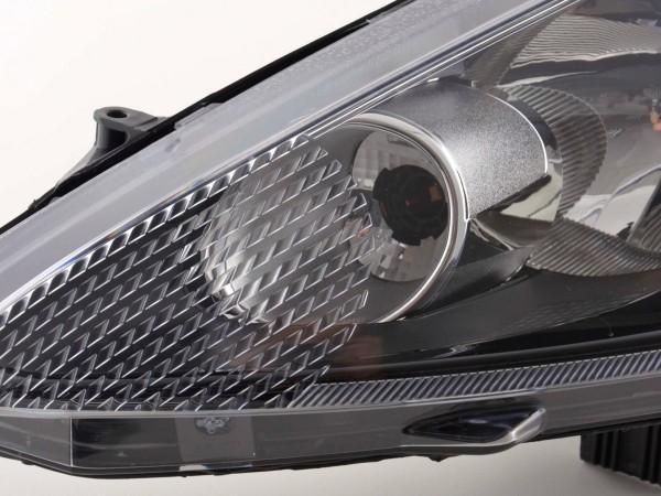 Spare parts headlight left Ford Fiesta 7 (JA8) 3-/5-door., black