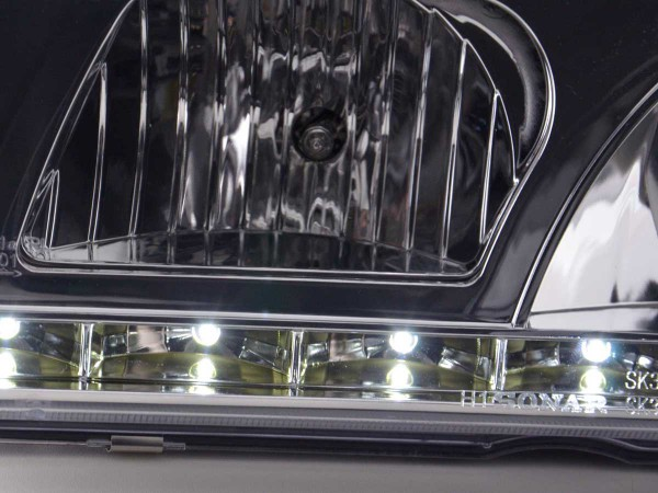 Daylight headlight BMW serie 3 saloon type E36 Yr. 92-98 chrome