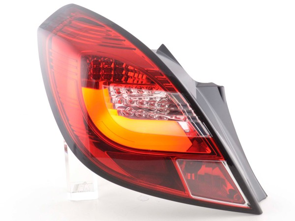 Rear lights Set LED Opel Corsa D 3-door Yr. 06-10 red/clear