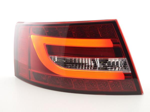 rear lights LED Audi A6 saloon (4F) Yr. 04-08 red/clear