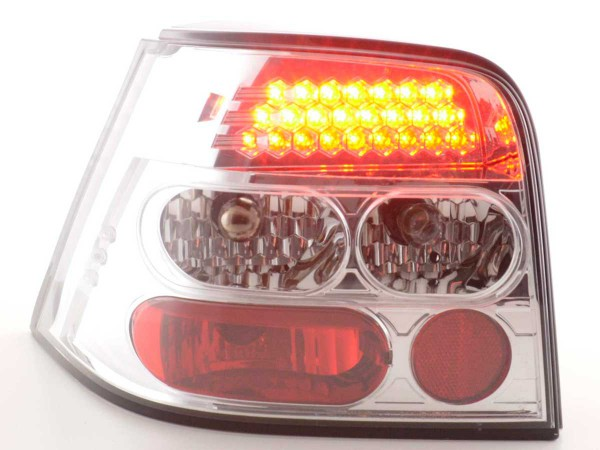 Led Taillights VW Golf 4 type 1J Yr. 98-02 chrome