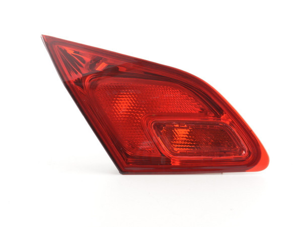Spare parts taillight left Opel Astra J 5-dr. Yr. 09-12 red
