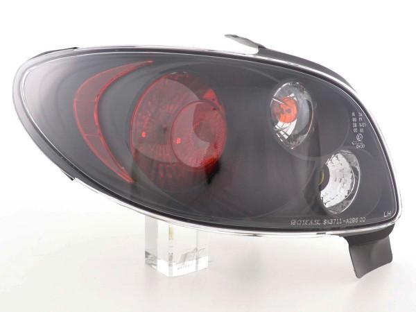 Taillights Peugeot 206 Yr. 98 - black