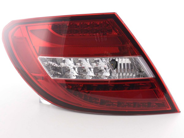 Rear lights Set LED Mercedes C-Class type W204 Yr. 2011- red/clear